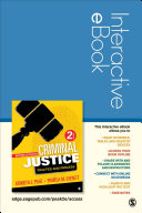 Introduction To Criminal Justice Interactive Ebook