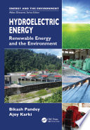 Hydroelectric Energy Book