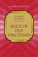 Alice of Old Vincennes Pdf/ePub eBook