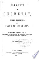 Elements Of Geometry Conic Sections And Plane Trigonometry