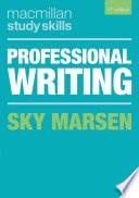 Professional Writing Book PDF