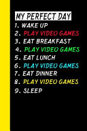 My Perfect Day Wake Up Play Video Games Eat Breakfast Play Video Games Eat Lunch Play Video Games Eat Dinner Play Video Games Sleep