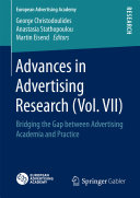 Advances in Advertising Research (Vol. VII)