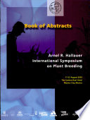 Book of abstracts: Arnel R. Hallauer international symposium on plant breeding