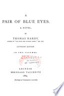 A Pair of Blue Eyes Pdf/ePub eBook