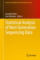 Statistical Analysis of Next Generation Sequencing Data