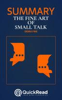 The Fine Art of Small Talk by Debra Fine (Summary)