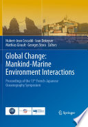 Global Change  Mankind Marine Environment Interactions Book