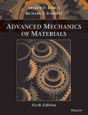 Cover of Advanced Mechanics of Materials