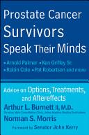 Prostate Cancer Survivors Speak Their Minds Book