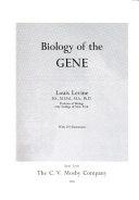 Biology of the Gene