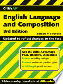 Cliffsap English Language And Composition 3rd Edition
