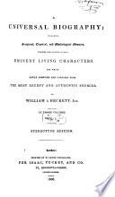 A Universal Biography