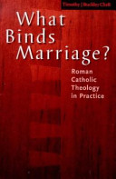 What Binds Marriage  Book
