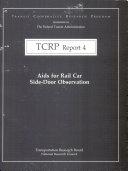 Aids for Rail Car Side-door Observation ebook