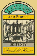 Pdf Louis XIV and Europe Telecharger