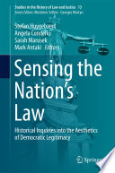 Sensing The Nation S Law