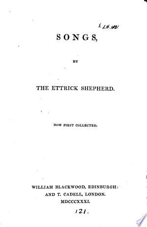 Download Songs, by the Ettrick shepherd PDF