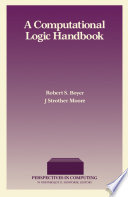 A Computational Logic Handbook