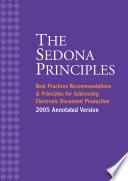 The Sedona Principles