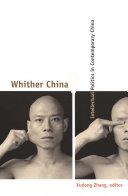 Whither China? Pdf/ePub eBook