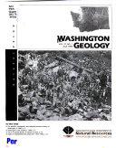 Washington Geology Book PDF