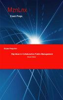 Exam Prep for  Big Ideas in Collaborative Public Management
