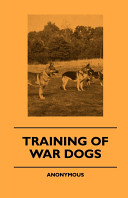 Training of War Dogs Book PDF