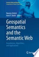 Geospatial Semantics And The Semantic Web Book PDF