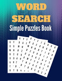 Simple Word Search Puzzles Book