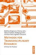 Methoden Transdisziplinärer Forschung