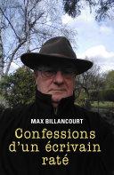 Pdf Confessions d'un écrivain raté Telecharger