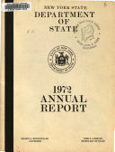 Annual Report   New York State Department of State