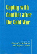 Coping With Conflict After The Cold War