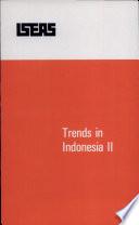 Trends in Indonesia, II
