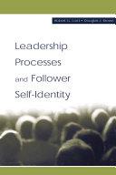 Leadership Processes and Follower Self-identity Pdf/ePub eBook