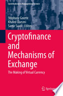 Cryptofinance and Mechanisms of Exchange
