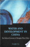 Water and Development in China Book