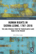 Human Rights in Sierra Leone  1787 2016