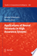 Applications Of Neural Networks In High Assurance Systems Book PDF