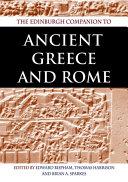 Edinburgh Companion to Ancient Greece and Rome