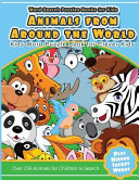 Word Search Puzzles Books for Kids Animal from Around the World