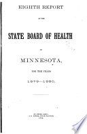 Biennial Report on Vital Statistics of the State of Minnesota for the Years
