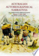 Australian Autobiographical Narratives 1850 1900