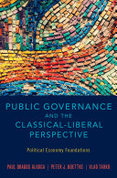 Public Governance and the Classical Liberal Perspective