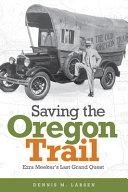Saving the Oregon Trail Book