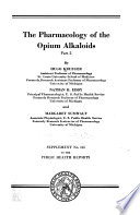 The Pharmacology of the opium alkaloids v. 2