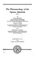 The Pharmacology of the opium alkaloids v  2