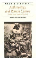Anthropology and Roman Culture