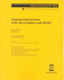 Miniaturized Systems With Micro Optics And Mems Book PDF